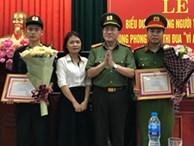 Mẹ bé trai bị co giật trên sân Thiên Trường: 'Tôi thực lòng cảm ơn các chiến sĩ cảnh sát nhiều lắm'