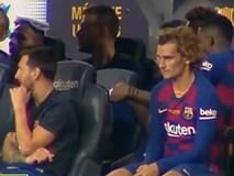 Messi từ chối bắt tay, tỏ thái độ khi Griezmann ngồi cạnh