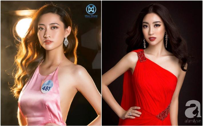 Makeup và làm tóc giống nhau: Top 3 Miss World Việt Nam thành bản sao HH Đỗ Mỹ Linh, Hà Tăng và một người ít ai ngờ-1