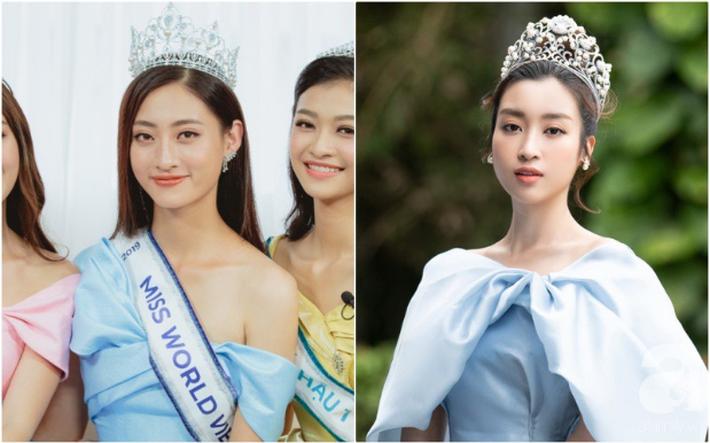 Makeup và làm tóc giống nhau: Top 3 Miss World Việt Nam thành bản sao HH Đỗ Mỹ Linh, Hà Tăng và một người ít ai ngờ-3