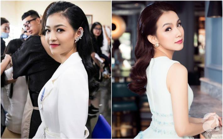 Makeup và làm tóc giống nhau: Top 3 Miss World Việt Nam thành bản sao HH Đỗ Mỹ Linh, Hà Tăng và một người ít ai ngờ-6