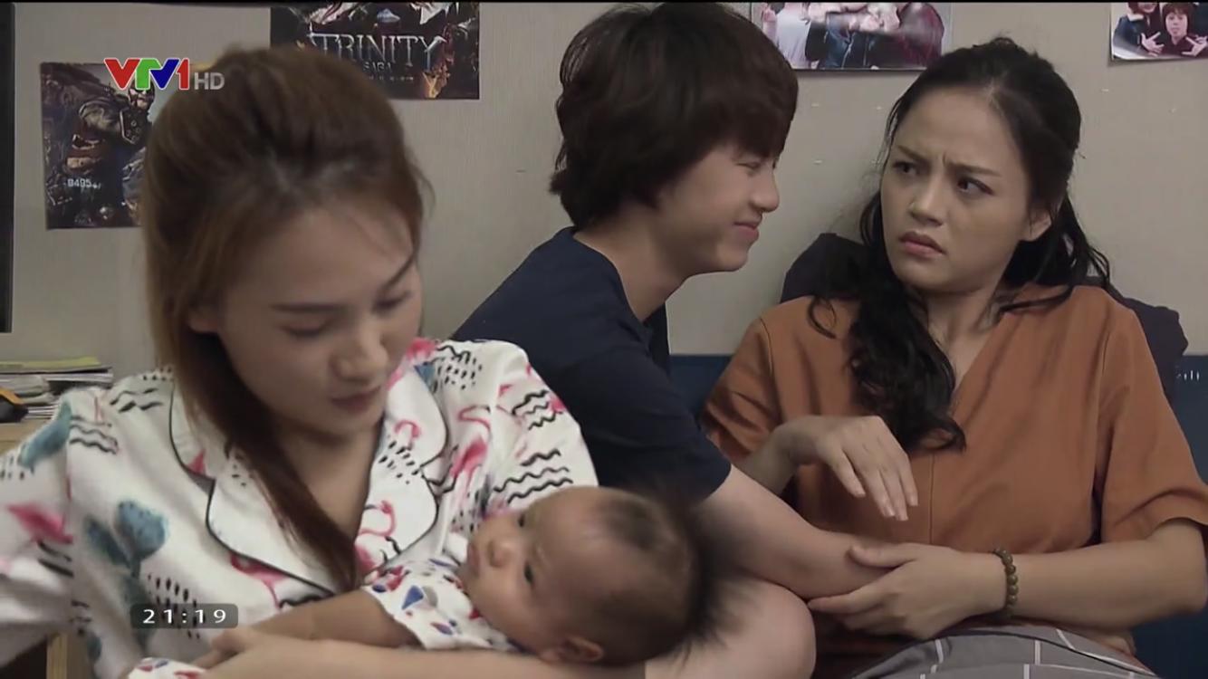 Về nhà đi con: Fan hả hê xem cảnh Thư mắng Huệ mặt cứ sưng lên,  nhưng phản ứng cu Bon lại vô cùng hài hước-4