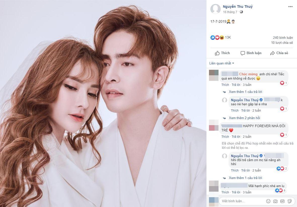 Thu Thủy gỡ ảnh bìa gia đình hạnh phúc, xóa avatar bên Kin Nguyễn giữa ồn ào con trai ruột bị chồng trẻ ngược đãi-3