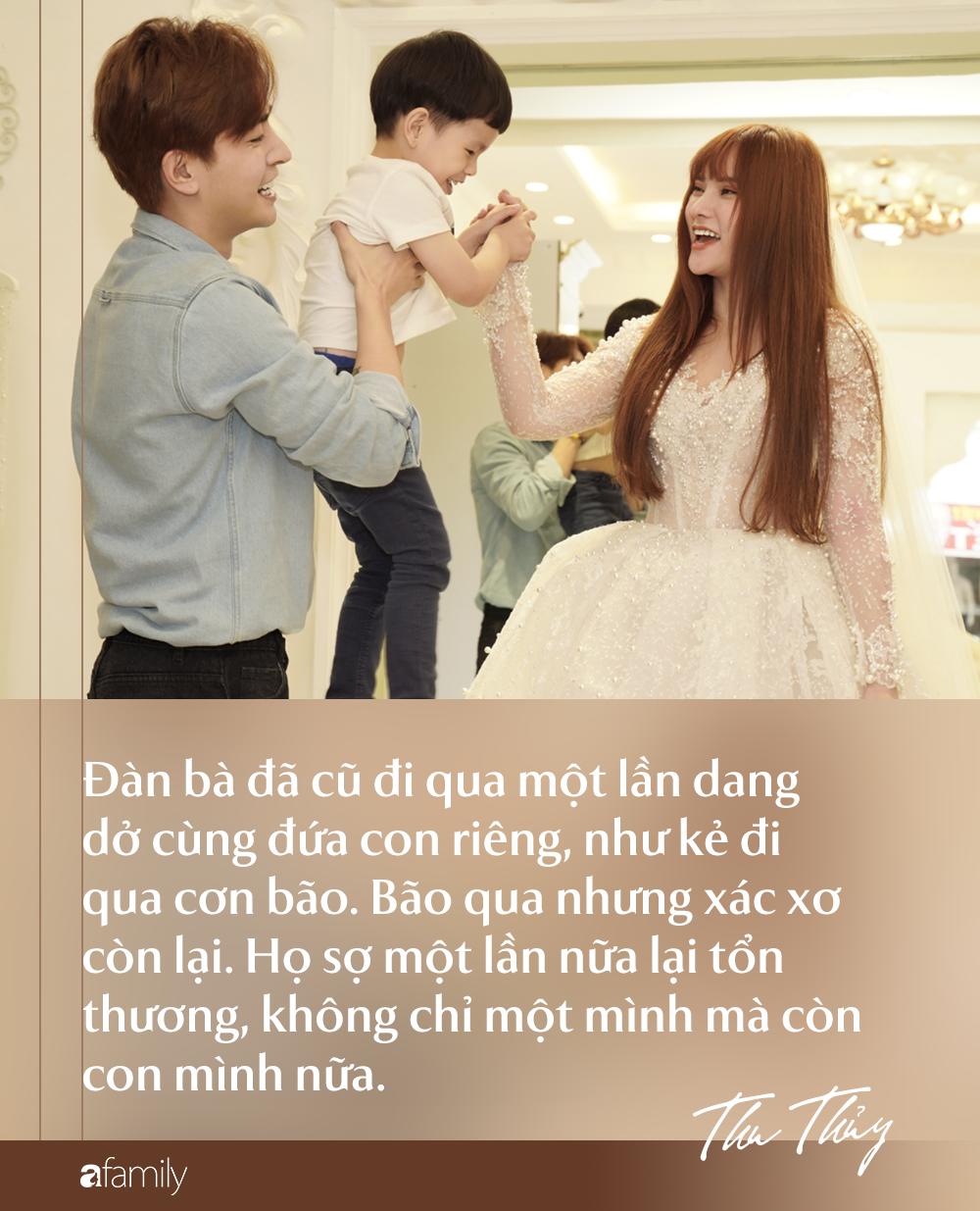 Từ chuyện chồng trẻ Kin Nguyễn cấu tay con Thu Thủy: Đàn bà có con riêng tái hôn không chỉ là chuyện chọn chồng-1