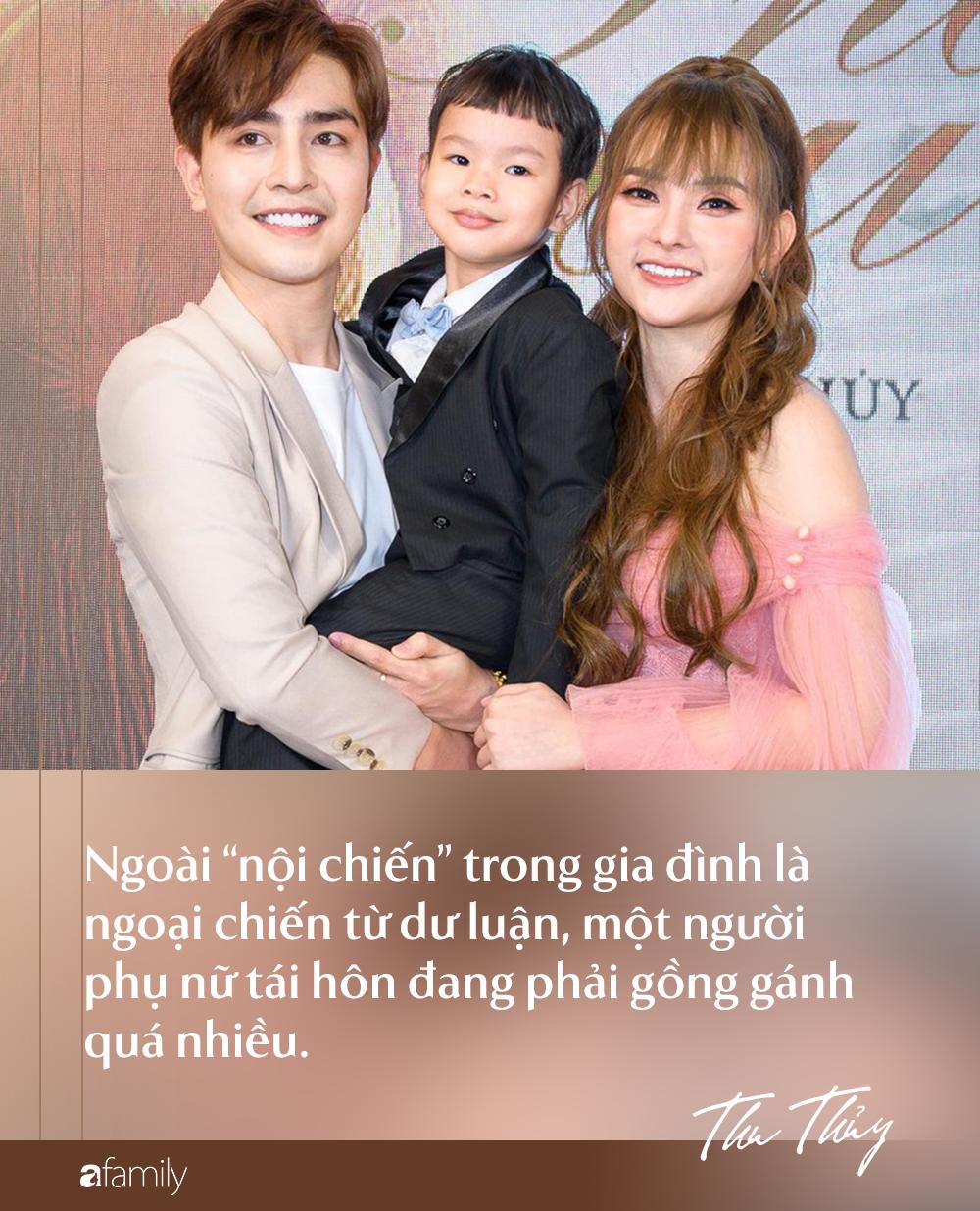 Từ chuyện chồng trẻ Kin Nguyễn cấu tay con Thu Thủy: Đàn bà có con riêng tái hôn không chỉ là chuyện chọn chồng-2