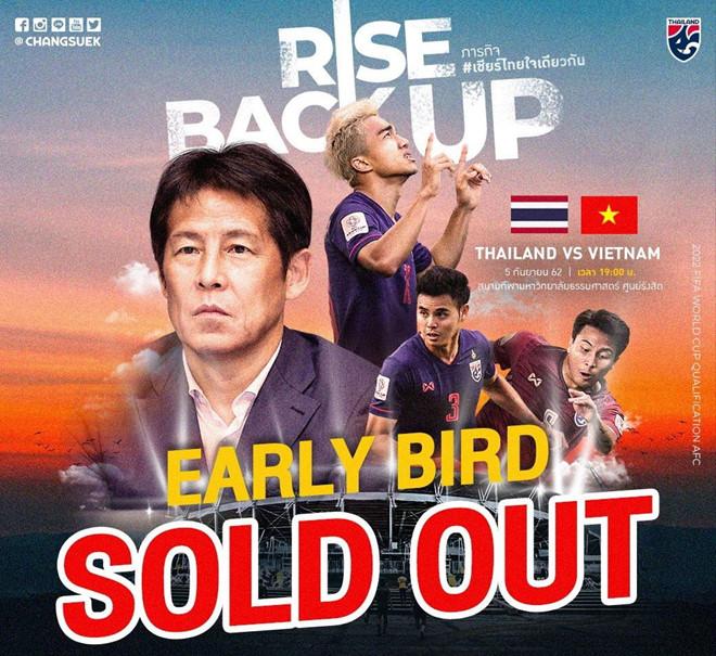 Thái Lan cháy vé trận gặp tuyển Việt Nam ở vòng loại World Cup-1