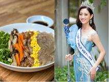 """Từng tự ti vì thân hình mũm mĩm, nay HH Lương Thùy Linh tự tin chia sẻ về """"thực phẩm vàng trong làng giảm cân"""""""