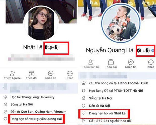 Nhật Lê và Quang Hải đồng loạt bỏ tên phụ liên quan đến người kia trên Facebook: Khẳng định không còn liên quan đến nhau?-3
