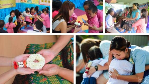 Khi Hoa hậu đội vương miện quỳ lạy cha mẹ: Lòng hiếu thảo của một người con và nét đẹp văn hóa tại đất nước Thái Lan-5