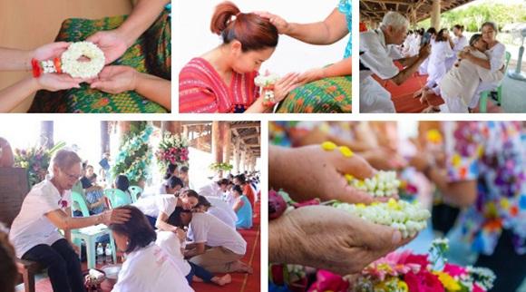 Khi Hoa hậu đội vương miện quỳ lạy cha mẹ: Lòng hiếu thảo của một người con và nét đẹp văn hóa tại đất nước Thái Lan-6