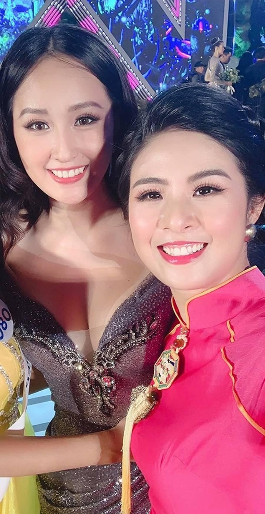 Hoàng Thuỳ mặc bikini khoe đường cong bỏng mắt sau nghi án nâng cấp vòng 1-11