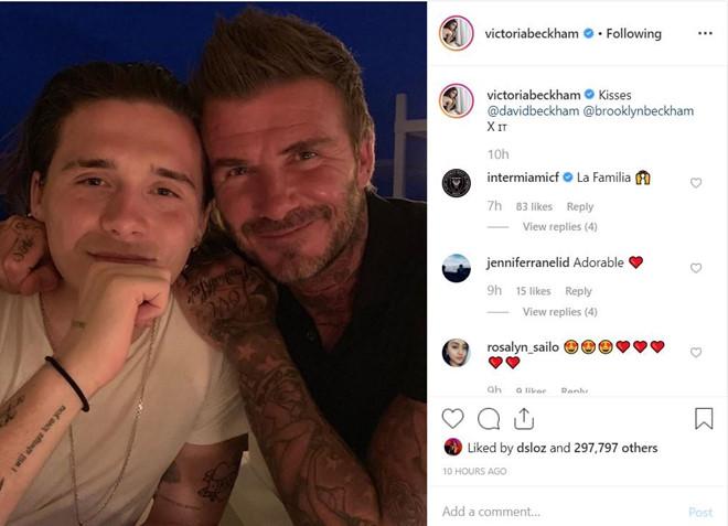 David Beckham thân thiết bên con trai sau tin đồn bất hòa-1