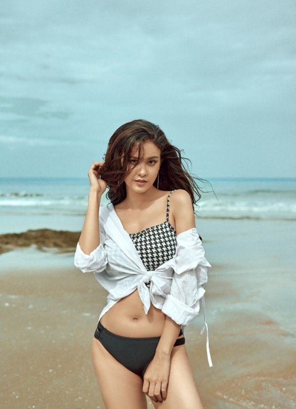 Mẹ một con nào như Trương Quỳnh Anh, cứ diện bikini là dân tình được phen phát sốt thế này-5