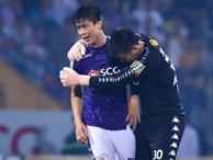 Duy Mạnh phải truyền nước hạ sốt trước ngày đấu Bình Dương FC