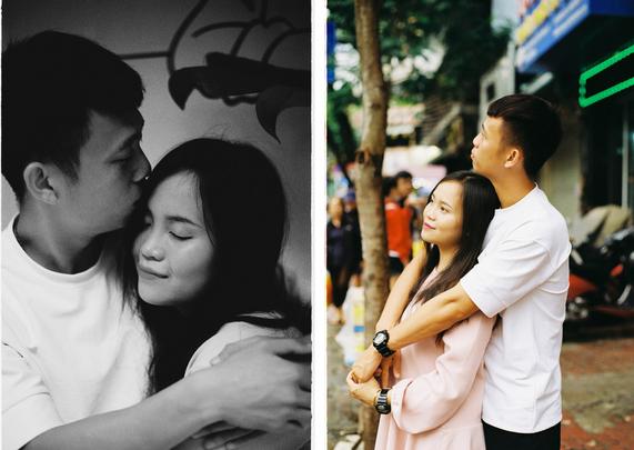 Tuyển thủ U22 Việt Nam khoe tình yêu 5 năm ngọt ngào: Tôi rèn luyện sự kiên trì bằng cách yêu em-1