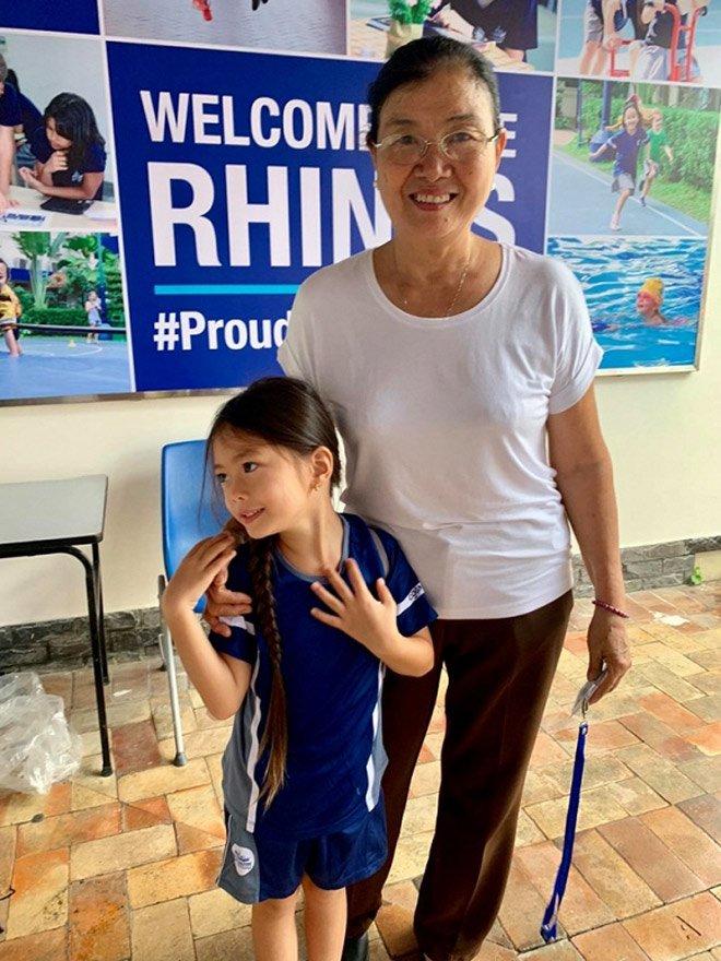 Sao Việt đưa con đi nhập học ngày đầu, tiết lộ toàn các trường quốc tế đắt đỏ-11