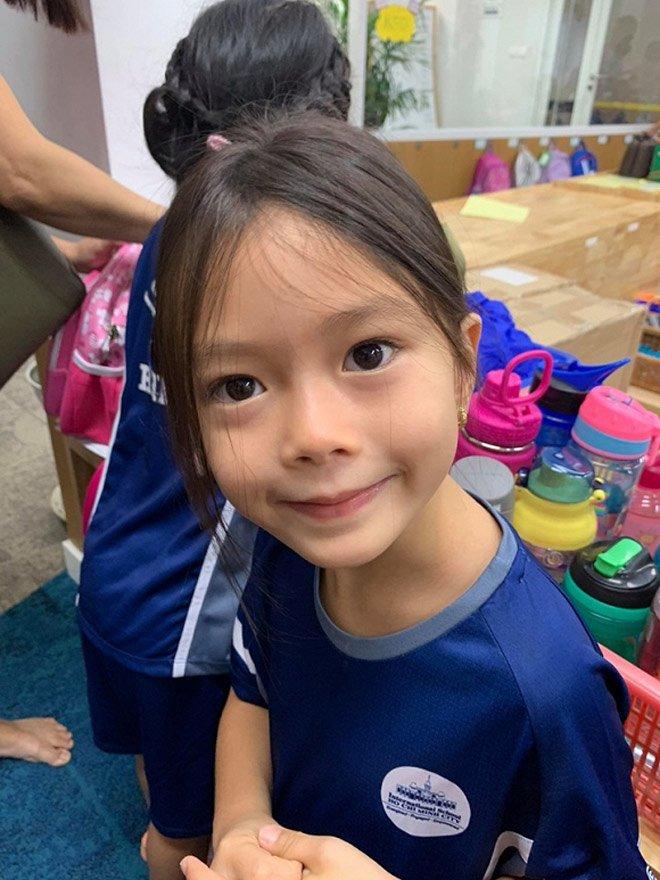 Sao Việt đưa con đi nhập học ngày đầu, tiết lộ toàn các trường quốc tế đắt đỏ-12