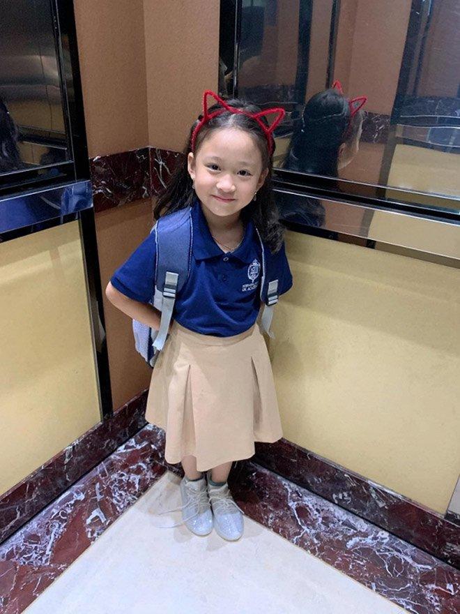 Sao Việt đưa con đi nhập học ngày đầu, tiết lộ toàn các trường quốc tế đắt đỏ-8