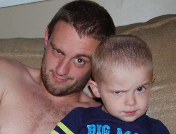 Những bức ảnh cha và con trai chứng minh mẹ có đẻ thế đẻ nữa vẫn không thoát kiếp đẻ thuê-24