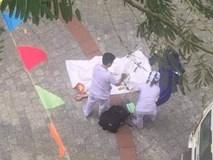 Nóng: Nam sinh trường ĐH Hutech rơi từ trên lầu cao xuống đất tử vong