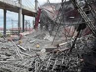 Sập giàn giáo cây xăng ở Hải Phòng, ít nhất 20 người thương vong