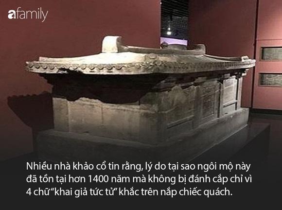 Khai quật mộ cổ nghìn năm của cháu gái Hoàng hậu Trung Hoa và câu chuyện bí ẩn đằng sau 4 chữ người mở sẽ chết trên nắp quan tài-9
