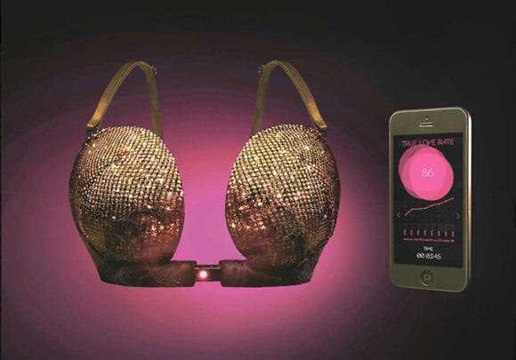Áo ngực thông minh của chị em Nhật Bản: Gặp đúng crush mới bung khóa, một khi không thích giật thế nào cũng không ra!-1