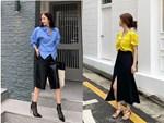 Linh Ka khoe street style như không mặc quần - Nhật Lê lăng-xê quần shorts 5 phân-10