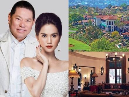 Cận cảnh biệt thự giá 33 triệu USD của người yêu cũ Ngọc Trinh