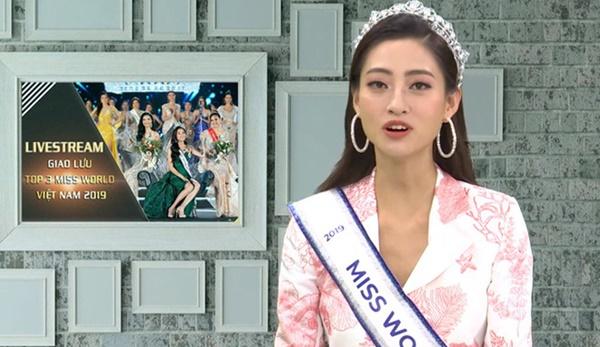 Tân Hoa hậu Lương Thùy Linh: Mẹ tôi có một chức vị khá cao, nhưng luôn khiêm tốn, giản dị-1
