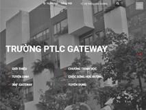 """Trường Gateway đổi giao diện webiste thành đen trắng, mời chuyên gia tâm lý thảo luận về """"cái chết"""" cho học sinh, phụ huynh"""