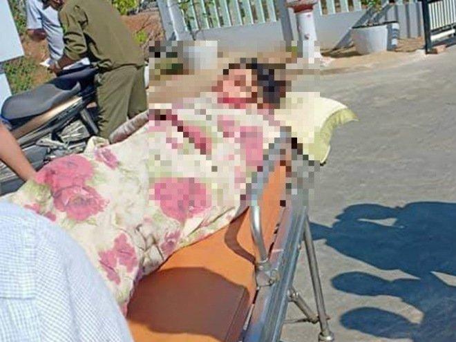 Hé lộ hoàn cảnh đáng thương của người vợ mới sinh bị chồng cứa cổ ở Quảng Nam-2