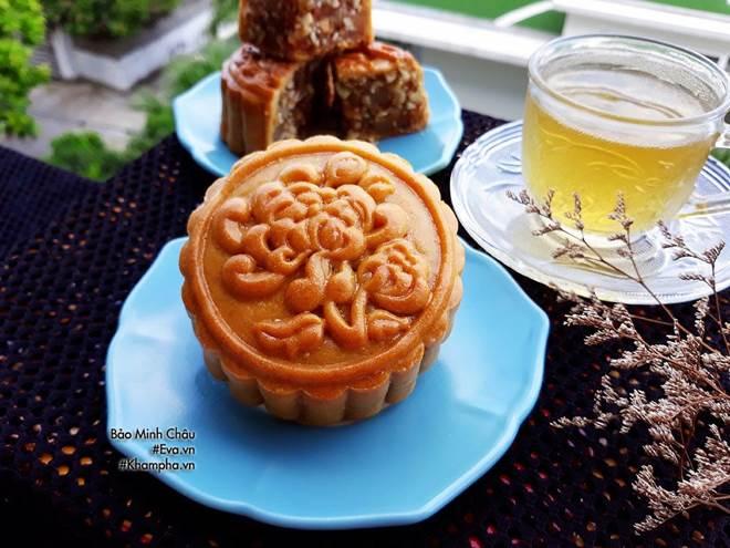 Cách làm bánh nướng truyền thống tuyệt ngon lại đơn giản cho Tết Trung thu-10