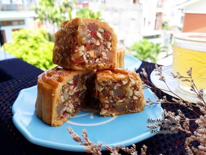Cách làm bánh nướng truyền thống tuyệt ngon lại đơn giản cho Tết Trung thu-11