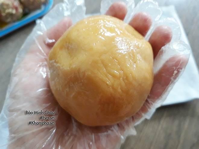 Cách làm bánh nướng truyền thống tuyệt ngon lại đơn giản cho Tết Trung thu-7