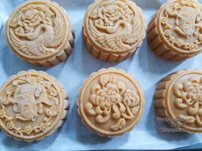 Cách làm bánh nướng truyền thống tuyệt ngon lại đơn giản cho Tết Trung thu-8