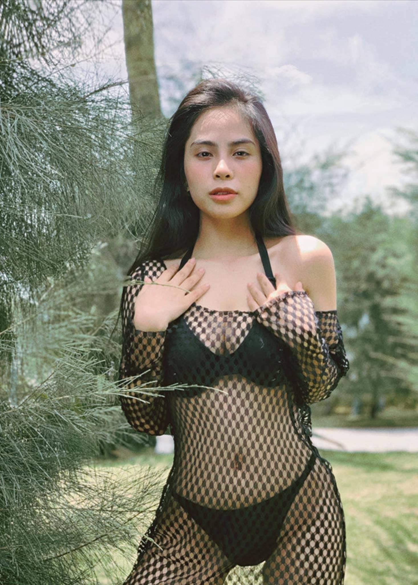 Ca nương Kiều Anh đăng ảnh diện bikini khoe vòng một 90 cm-5