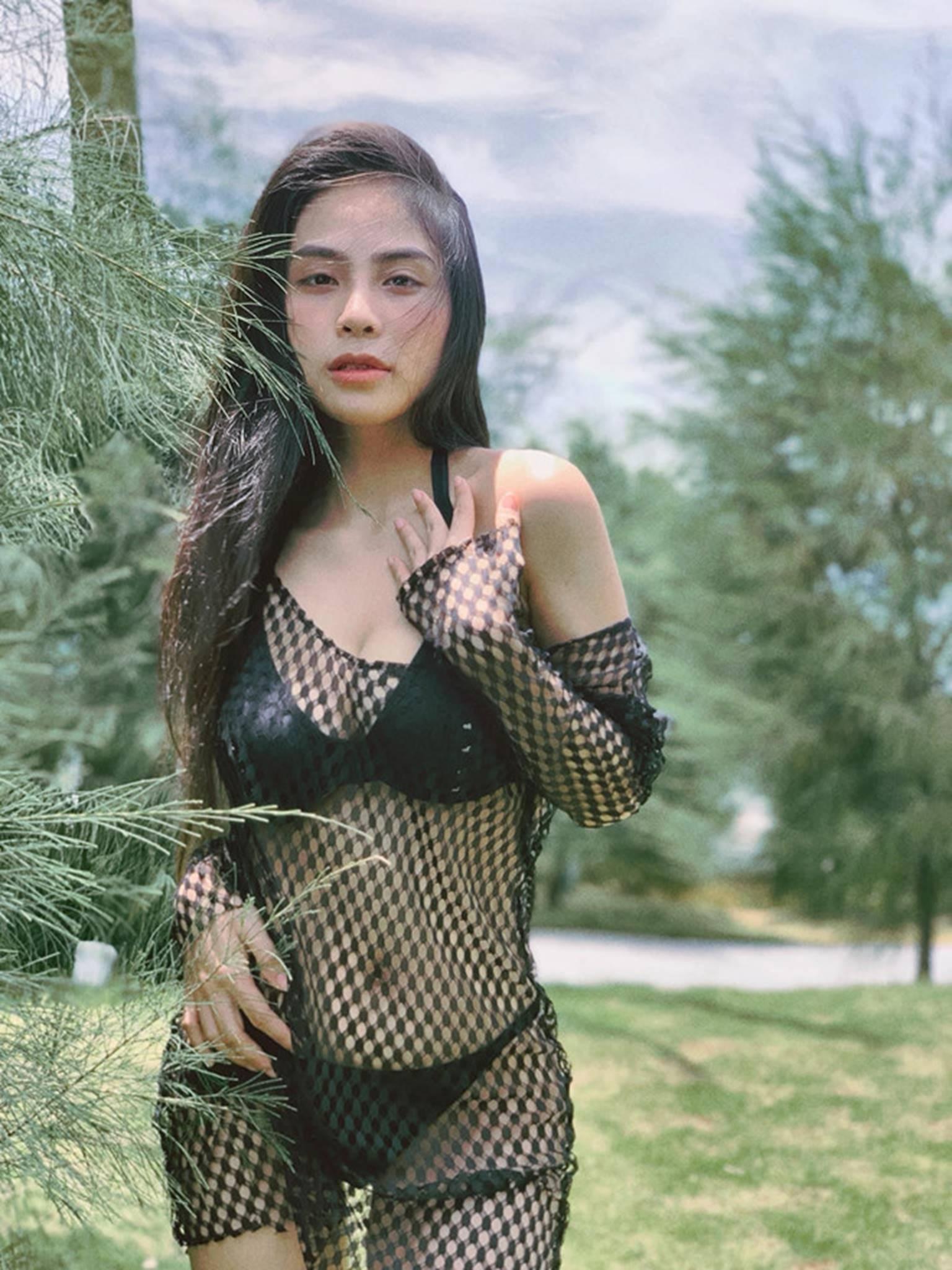 Ca nương Kiều Anh đăng ảnh diện bikini khoe vòng một 90 cm-6