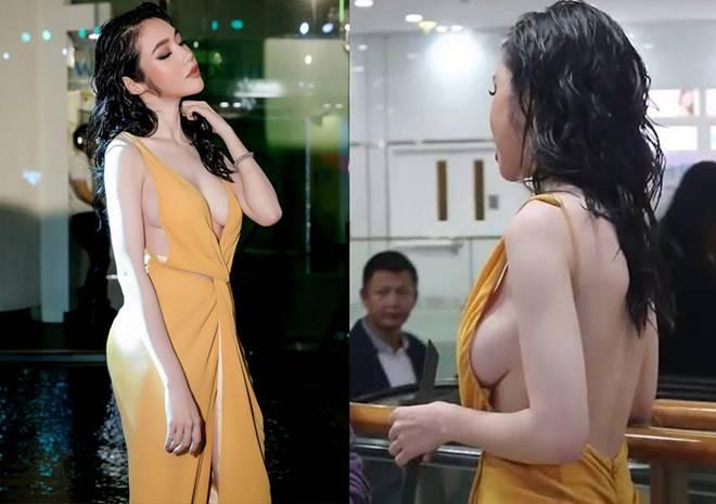 Mỹ nhân Việt đua mốt váy khoét tận rốn: người được khen nức nở, người ê mặt vì phản cảm-9