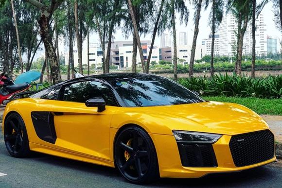 Cưới vợ xong, Cường Đô La gả siêu xe Audi cho người khác-1