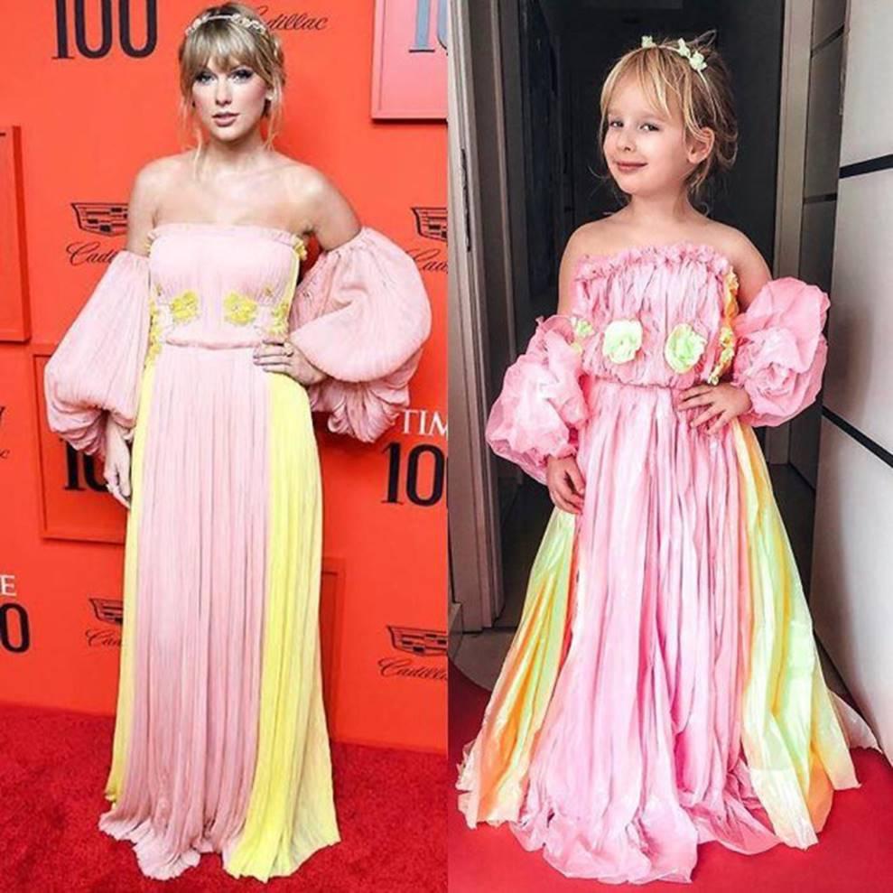 Bé gái 5 tuổi gây bão với bộ ảnh cosplay sao nổi tiếng đi sự kiện-7