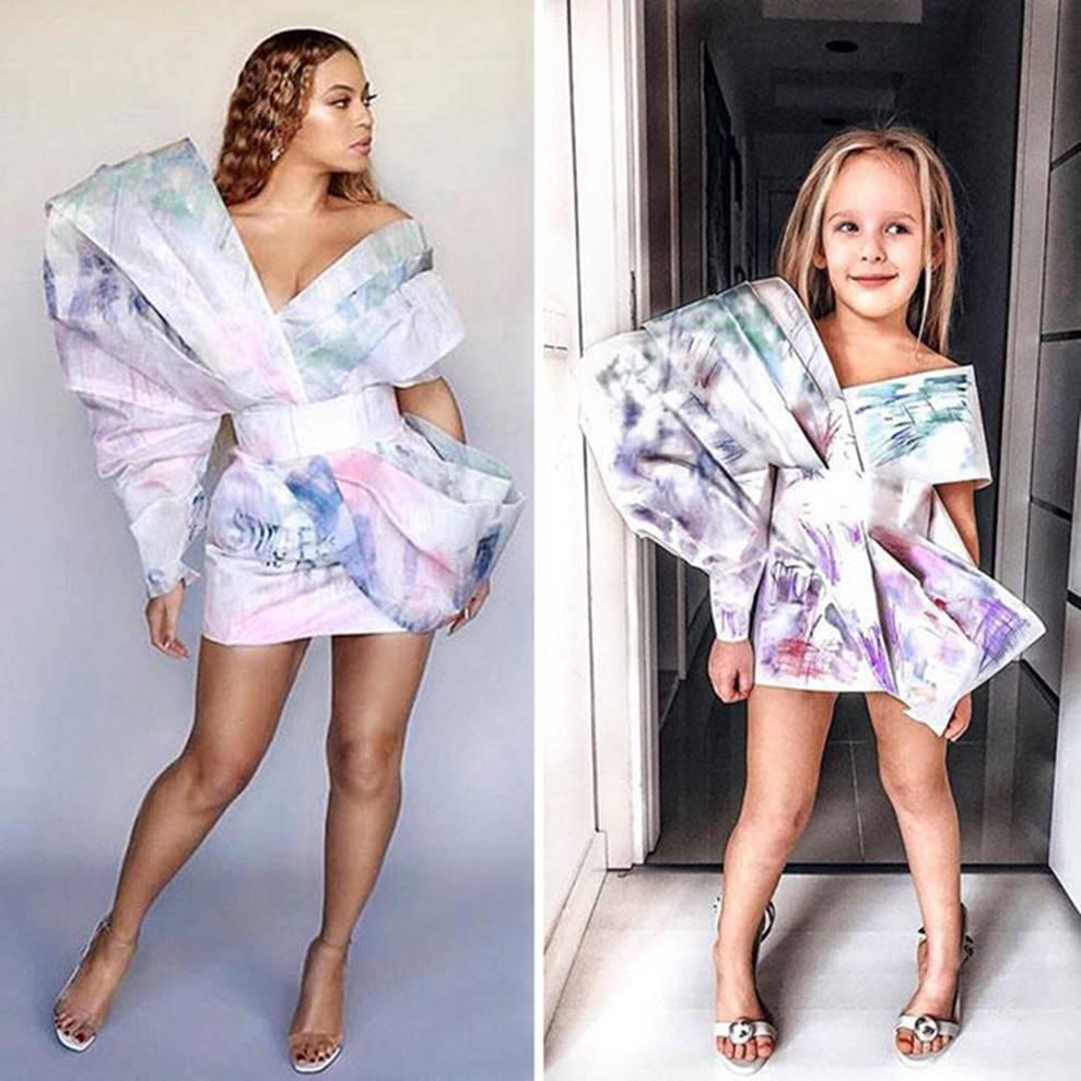 Bé gái 5 tuổi gây bão với bộ ảnh cosplay sao nổi tiếng đi sự kiện-9