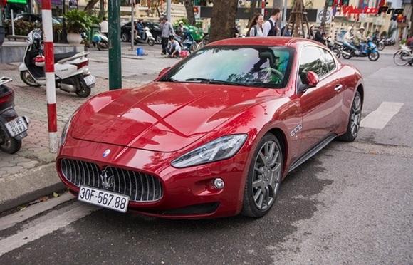 Loạt ô tô sang biển số sảnh cực chất của đại gia Việt-1
