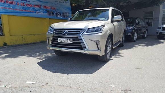 Loạt ô tô sang biển số sảnh cực chất của đại gia Việt-3