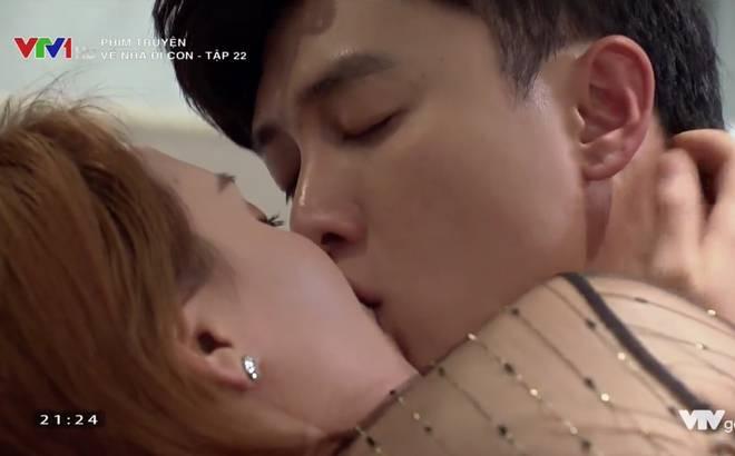 Quốc Trường: Tôi phải hôn Bảo Thanh tới 10 lần một cảnh, còn Quỳnh Nga là 6 lần-3