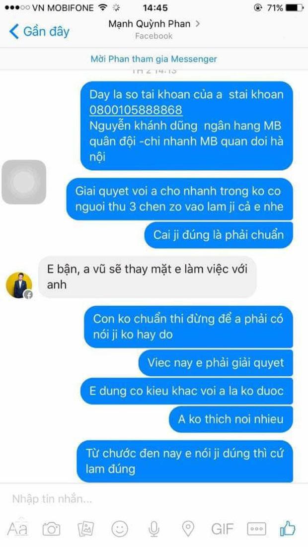 Phan Mạnh Quỳnh lên tiếng sau ồn ào bị tố quỵt tiền, vô ơn: Người tố tôi có vấn đề về thần kinh vì từng đánh DJ, oxin...-3