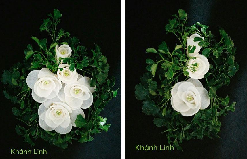 Ngất ngây với những tác phẩm hoa đẹp từng centimet dành riêng cho mùa Vu Lan khiến MXH phát sốt-3