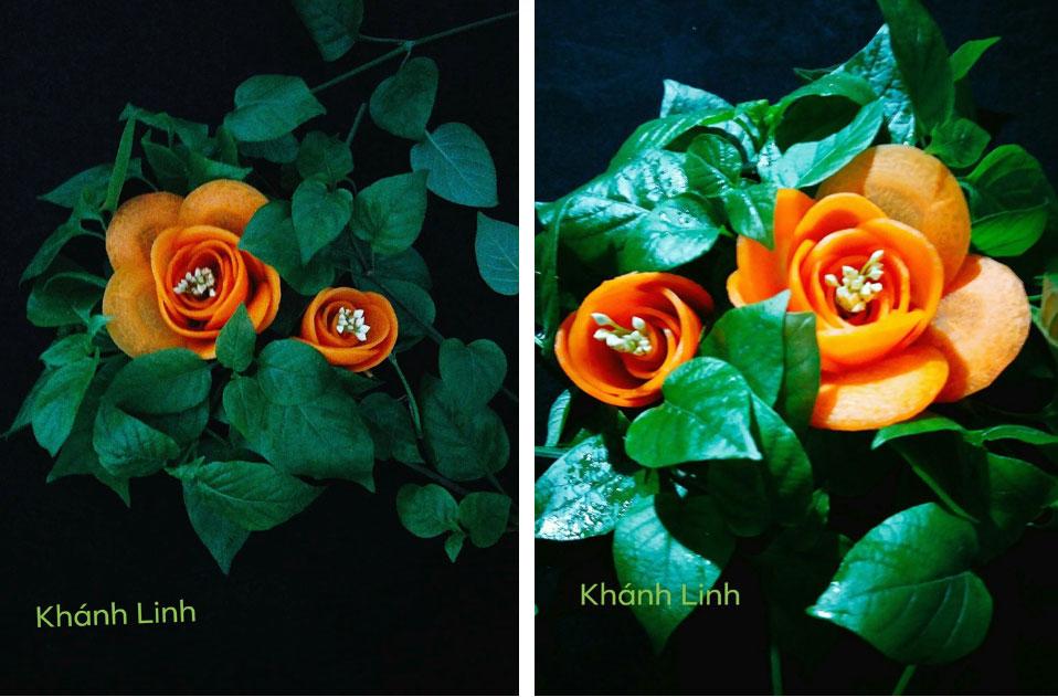 Ngất ngây với những tác phẩm hoa đẹp từng centimet dành riêng cho mùa Vu Lan khiến MXH phát sốt-7