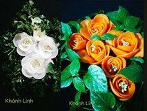 Ngất ngây với những tác phẩm hoa đẹp từng centimet dành riêng cho mùa Vu Lan khiến MXH