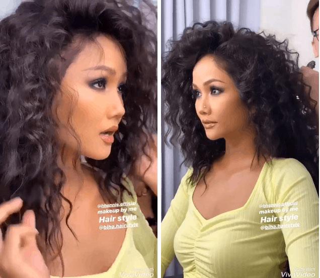 HHen Niê lột xác với kiểu tóc xoăn xù mì của thập niên 90: Tưởng không hợp hóa ra lại hợp không tưởng-1